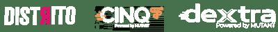 Logos Distrito e parceiros