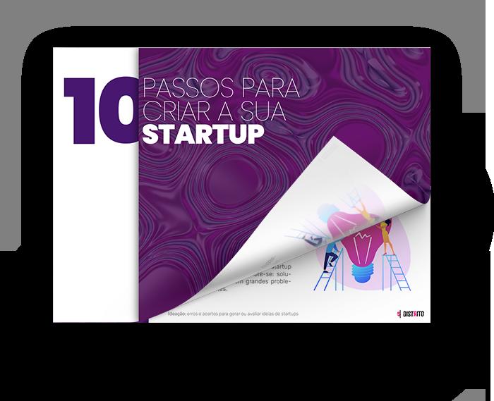 Ebook - 10 passos para criar sua startup